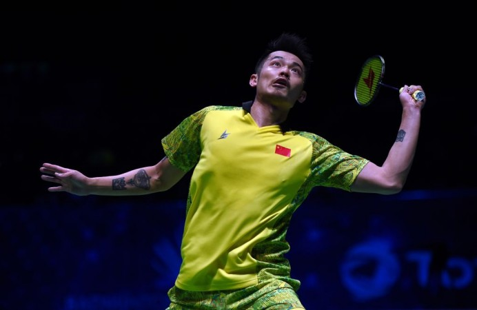 Shi stuns Lin Dan for title