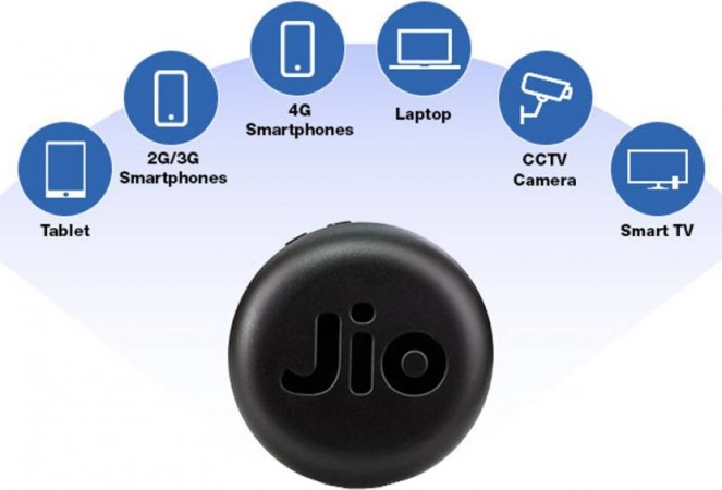 Reliance JioFi Hotspot Launched In India For Rs 999