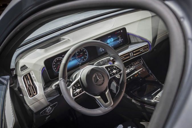 Mercedes Benz Eqc Electric Suv Revealed Rival