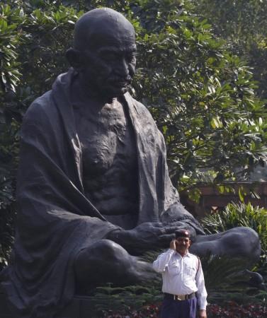Statue of Mohandas Karamchand Gandhi