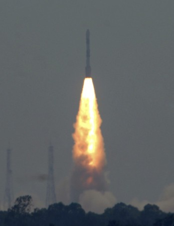 ISRO successfully launch three satellites (PHOTOS)