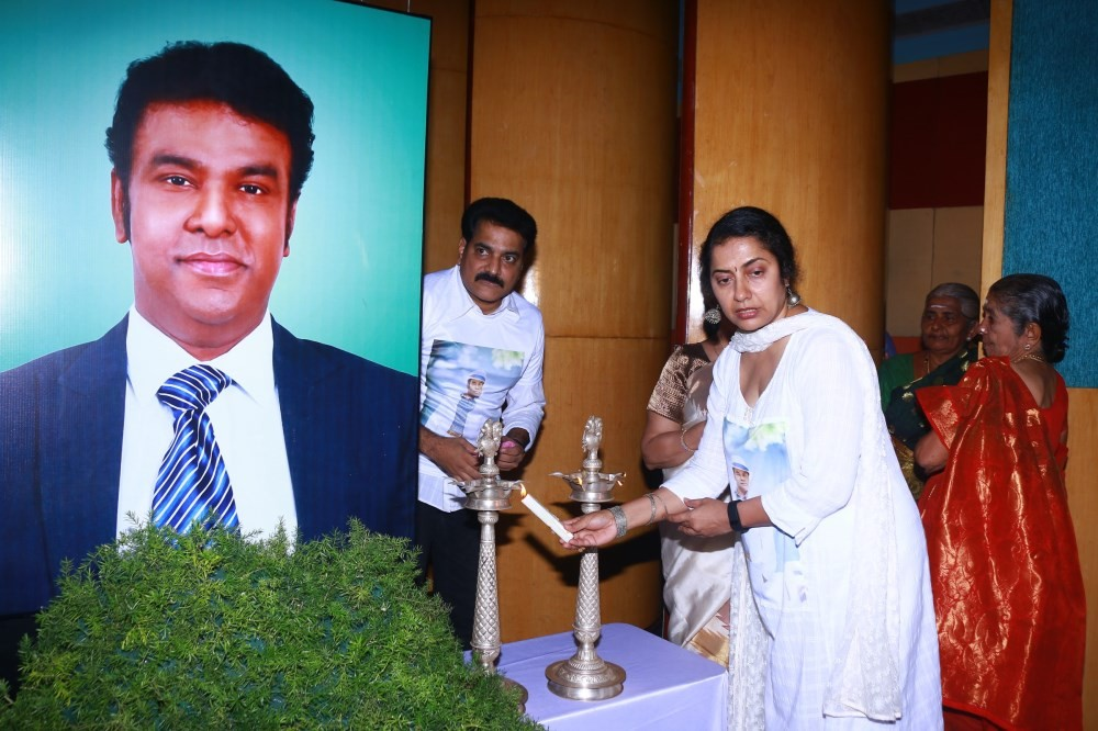 In Memories of Our Chennai's Buddy Event,Shanthanu Bhagyaraj,Maniratnam,Prasanna,Krish,Sangeetha,Vijay Adhiraj,Arya,Kushboo,Suhasini,Maniratnam,Manobala,Poornima Bhagyaraj,Vimala Raman,Vandhana,Srikanth