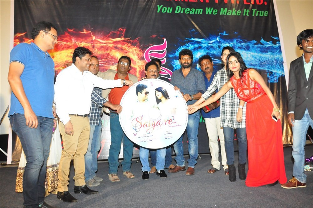 Saiya Re audio launch,Saiya Re audio,Saiya Re music,Saiya Re music launch,Pooja Sri,Ujjal Kumar Saha,Annie,Sonali Acharjee,Ramesh Uppala,Mahendra Varma,Aneet Kaur Sekhon,Saiya Re audio launch pics,Saiya Re audio launch images,Saiya Re audio launch photos