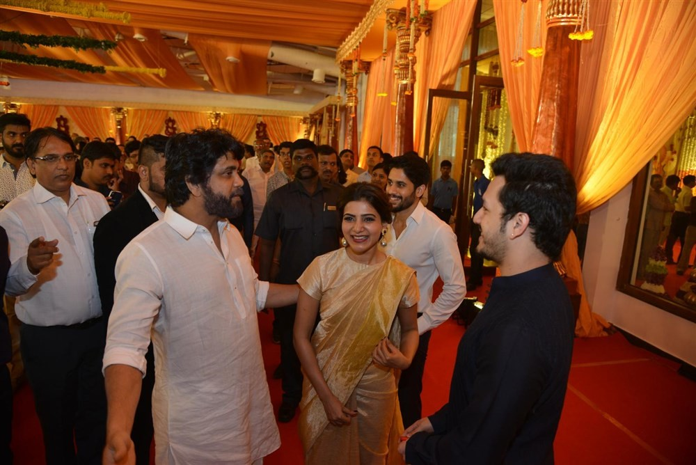 Nagarjuna,Akhil,Rajamouli,Sachin Tendulkar,Nimmagadda Prasad Daughter Wedding,Nimmagadda Prasad Daughter marriage,Naga Chaitanya,Samantha