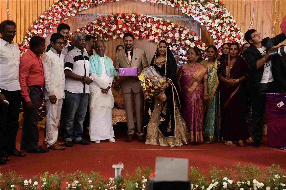 Sivakumar,Lakshmy Ramakrishnan,Ilayaraja,Karthik Raja,Abdul Ghani,Abdul Ghani wedding,Abdul Ghani wedding Reception,Abdul Ghani marriage