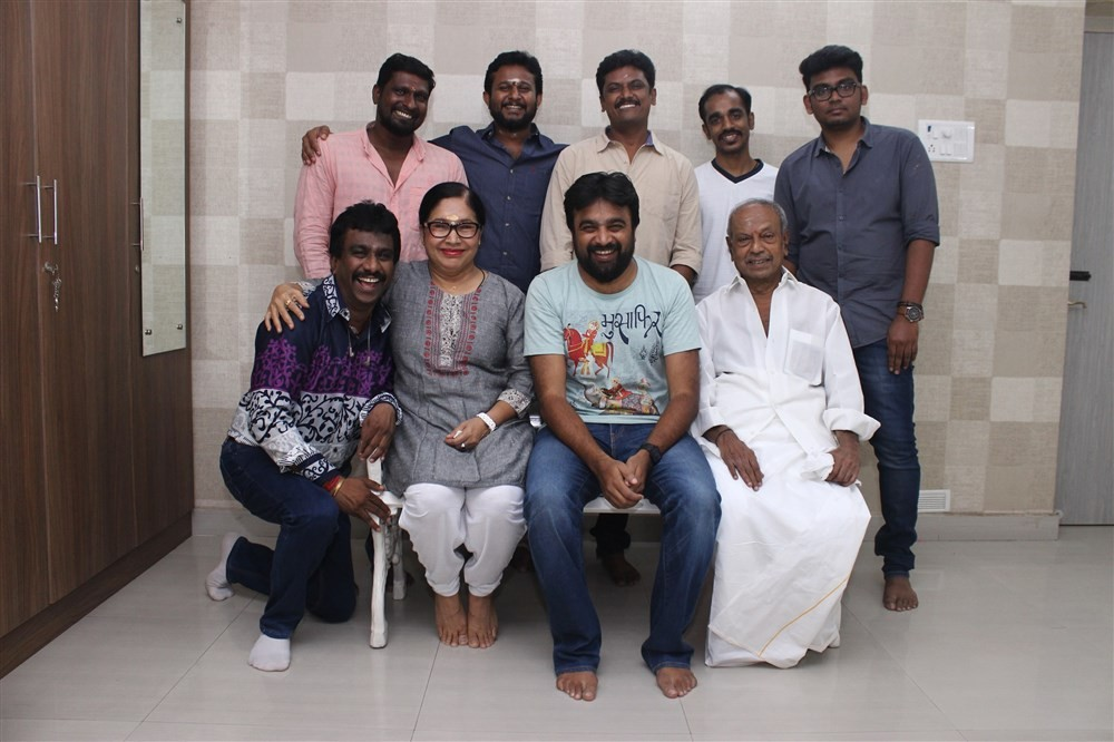 Sasikumar,Kovai Sarala,P Prakash,Sangili Murugan,Darbuka Siva,Mayapandi,Ravindranath Guru,Sasikumar New Movie Launch,Sasikumar New Movie,Sasikumar New Movie Launch pics,Sasikumar New Movie Launch images,Sasikumar New Movie Launch photos,Sasikumar New Movi