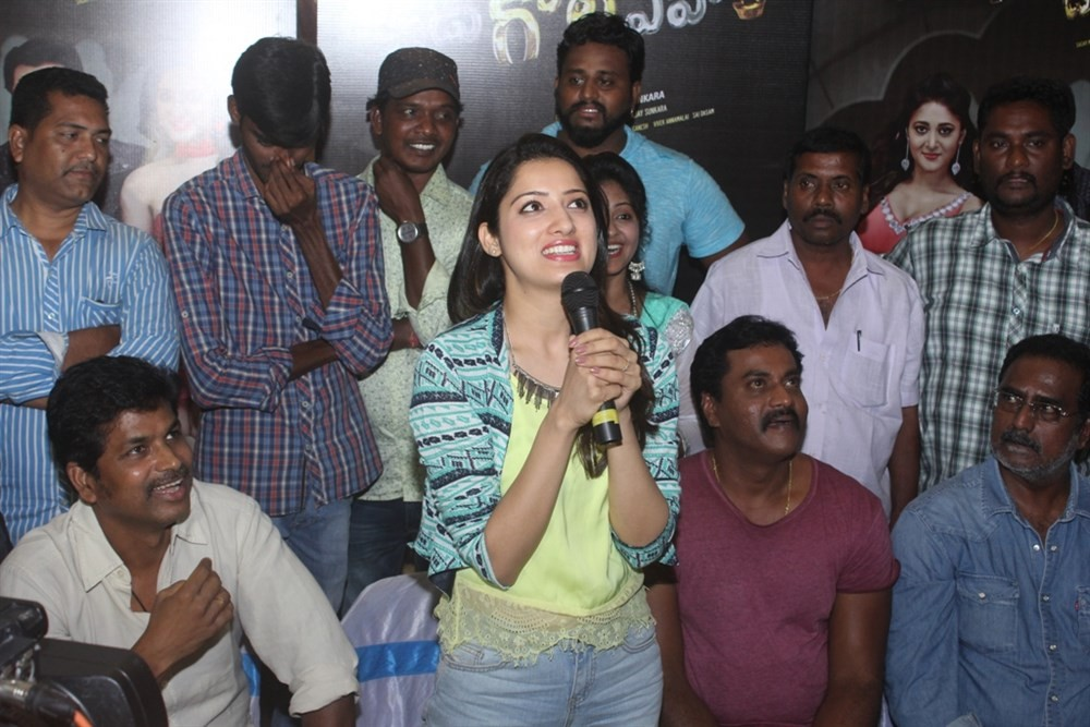 Sunil,Richa Panai,Eedu Gold Ehe,Eedu Gold Ehe Song,Eedu Gold Ehe Song launch,Sunil and Richa Panai,Veeru Potla,Jagadamba Theater
