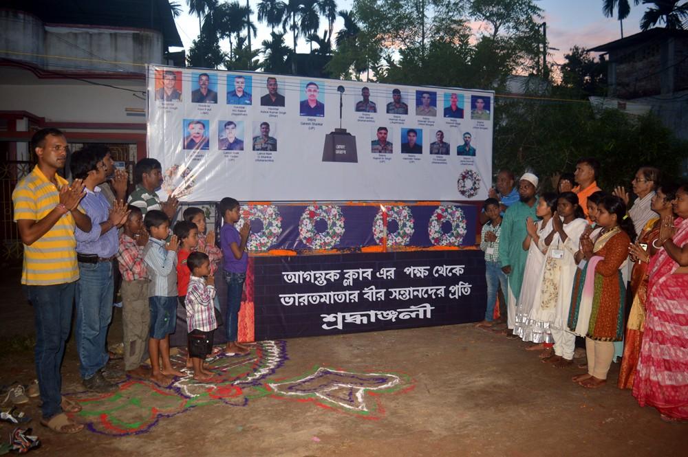 Agartala Durga Puja,Uri martyrs,Durga Puja pandal,Uri in Jammu and Kashmir,terrorist attack,Durga Puja,Indian Army soldiers,Indian Army