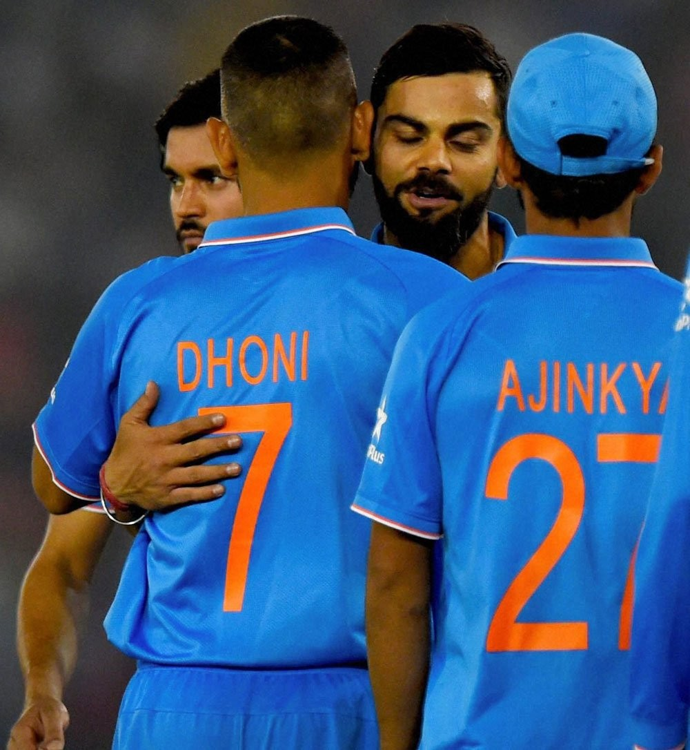 India beat New Zealand by 7 wickets,India beat New Zealand,India beats New Zealand,3rd ODI,India vs New Zealand,Virat Kohli,MS Dhoni