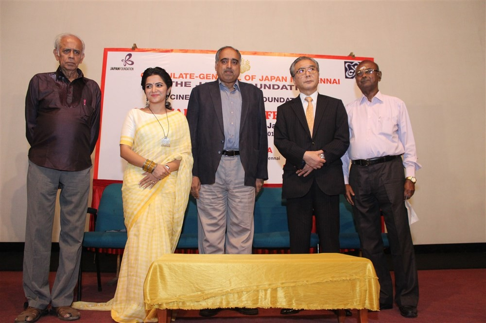 Chennai Japan Film Festival 2016,Chennai Japan Film Festival,Japan Film Festival 2016,Japan Film Festival,DD,Divyadarshini,Seiji Baba,Ramakrishnan,Sivan Kannan,E Thangaraj