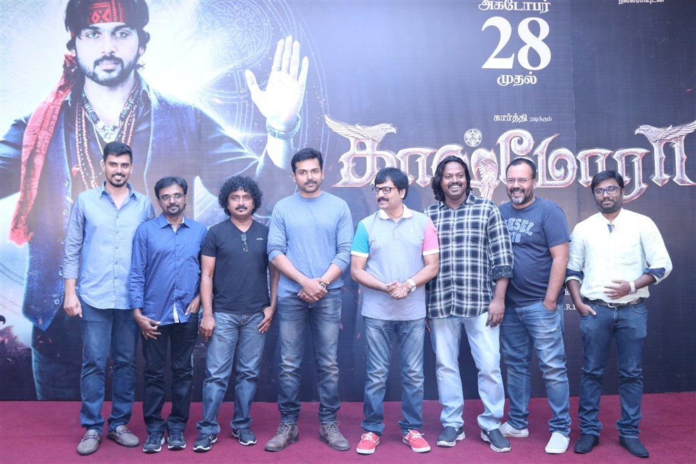 Kaashmora Press Meet,Kaashmora,Karthi,Vivek,SR Prakashbabu,Gokul,Om Prakash,VJ Sabu Joseph,SR Prabhu,Kaashmora Press Meet pics,Kaashmora Press Meet images,Kaashmora Press Meet photos,Kaashmora Press Meet stills,Kaashmora Press Meet pictures
