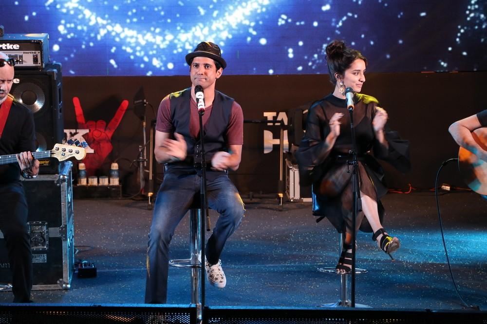 Farhan Akhtar,Shraddha Kapoor,Prachi Desai,Rock On 2 trailer launch,Rock On 2 trailer,Rock On 2