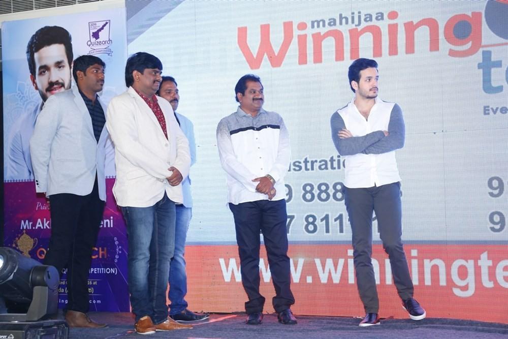 Akhil Akkineni,actor Akhil Akkineni,Winning Teams Magazine,Trophy Launch,Taj Gateway,Akhil Akkineni pics,Akhil Akkineni images,Akhil Akkineni photos,Akhil Akkineni stills,Akhil Akkineni pictures