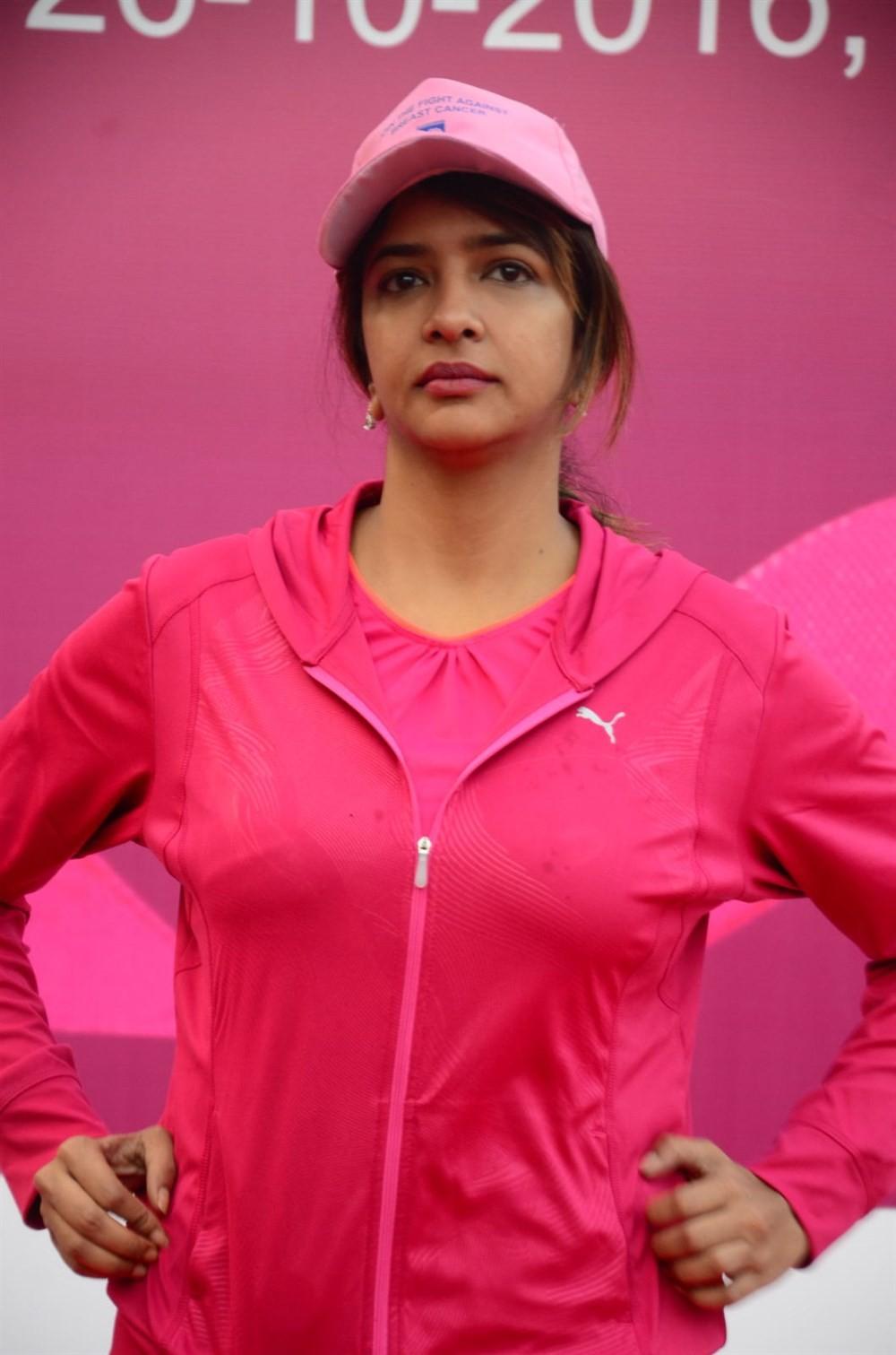 Balakrishna,Lakshmi Manchu,Nandamuri Balakrishna,Breast Cancer Awareness Walk,Breast Cancer,Breast Cancer Awareness,Balakrishna at Breast Cancer Awareness Walk,Lakshmi Manchu at Breast Cancer Awareness Walk