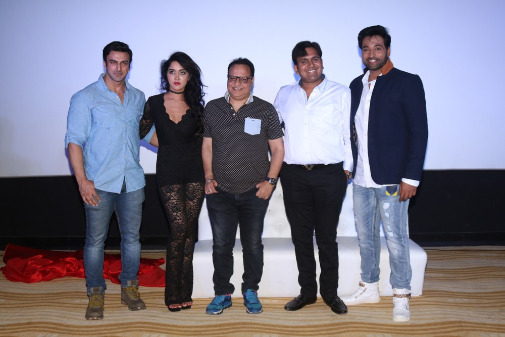 Ishq Junoon Song launch,Ishq Junoon Song,Rajbiir,Divya Singh,Akshay Rangshahi,Kabhi Yun Bhi,Kabhi Yun Bhi song,Kabhi Yun Bhi song launch