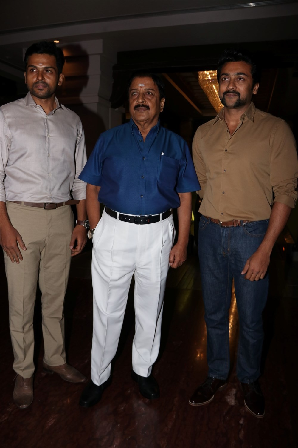 Suriya,Karthi,Sivakumar 75 Years Celebration,Bayilvan Ranganathan,Rajasekar Pandian,G Dhananjayan,Mohan Raman,Jagan,Sivakumar 75 Years Celebration pics,Sivakumar 75 Years Celebration images,Sivakumar 75 Years Celebration photos,Sivakumar 75 Years Celebrat