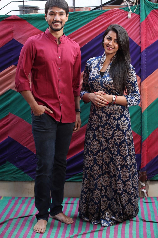 Hara Hara Mahadevaki,Hara Hara Mahadevaki movie launch,Gautham Karthik,Nikki Galrani,Rajendran,Santhosh Peter Jayakumar,Ravi Mariya,KE Gnanavel Raja