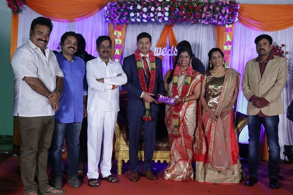Seenu Ramasamy's Sister Wedding Reception,Vijay Sethupathi,MK Stalin,Kanimozhi,Udhayanidhi Stalin,Vairamuthu,Bala,Senthil,Manobala,Kalaipuli S Thanu