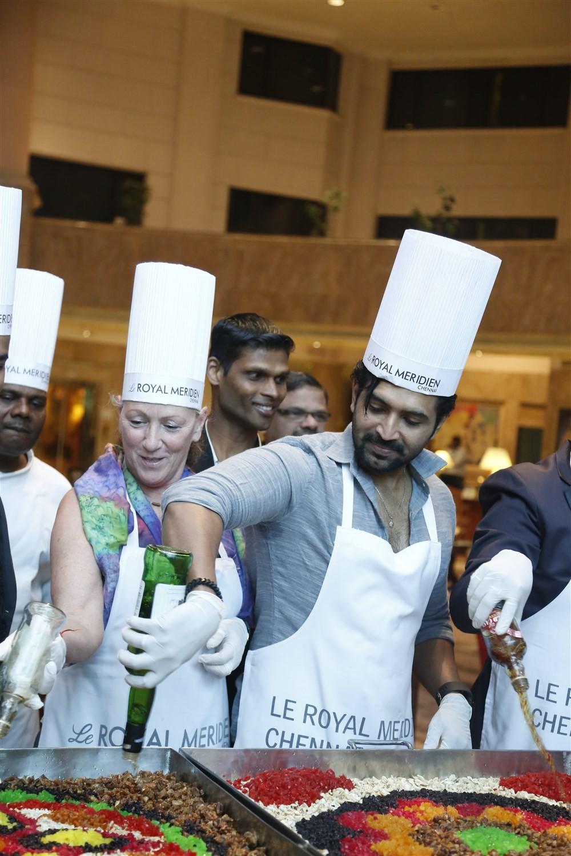 Arun Vijay at Christmas Cake Mixing Ceremony - Photos ...