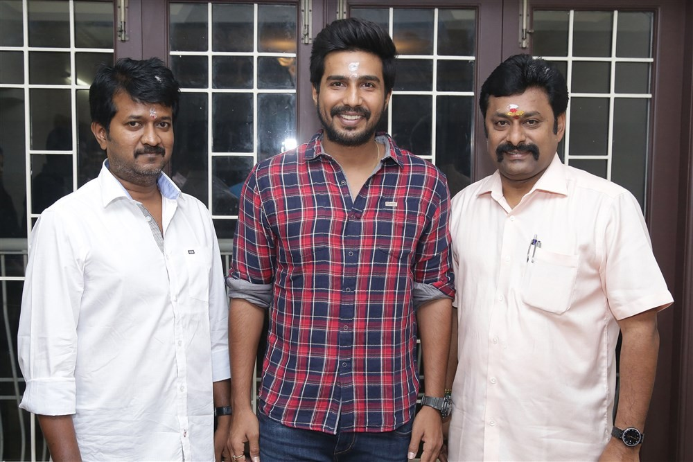 Vishnu Vishal,Studioz Production No.3,Vishnu Vishal new movie,Vishnu Vishal new movie launch,Vishnu Vishal new movie pooja,Vishnu Vishal new movie pooja pics,Vishnu Vishal new movie pooja images,Vishnu Vishal new movie pooja photos,Vishnu Vishal new movie
