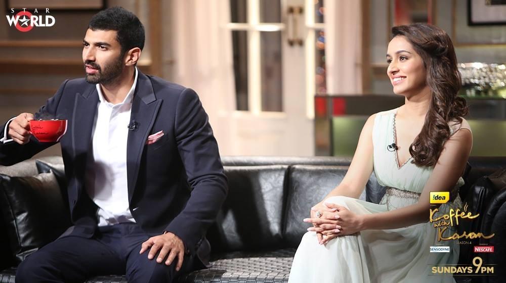 Aditya Roy Kapur and Shraddha Kapoor