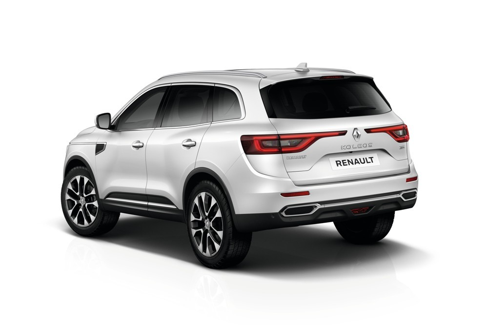 new renault koleos suv unveiled at auto china 2016. Black Bedroom Furniture Sets. Home Design Ideas