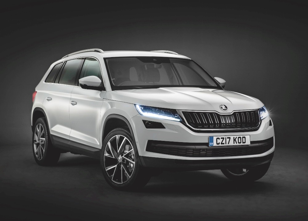 skoda kodiaq 7 seater suv unveiled confirmed for india launch next year photos. Black Bedroom Furniture Sets. Home Design Ideas
