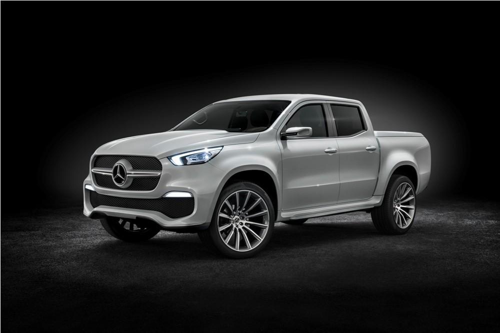 Mercedes-Benz X-Class pickup concept- stylish explorer