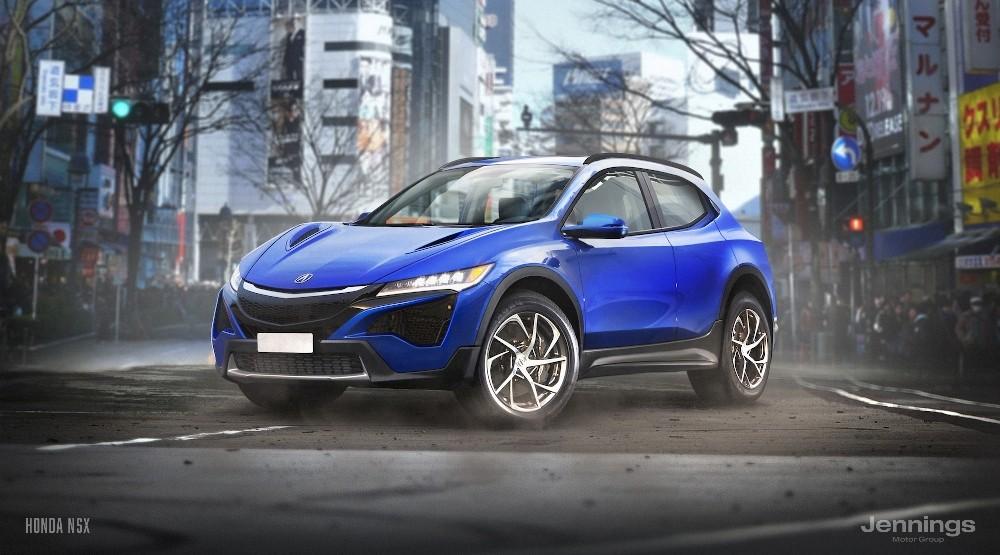 Honda NSX SUV Concept