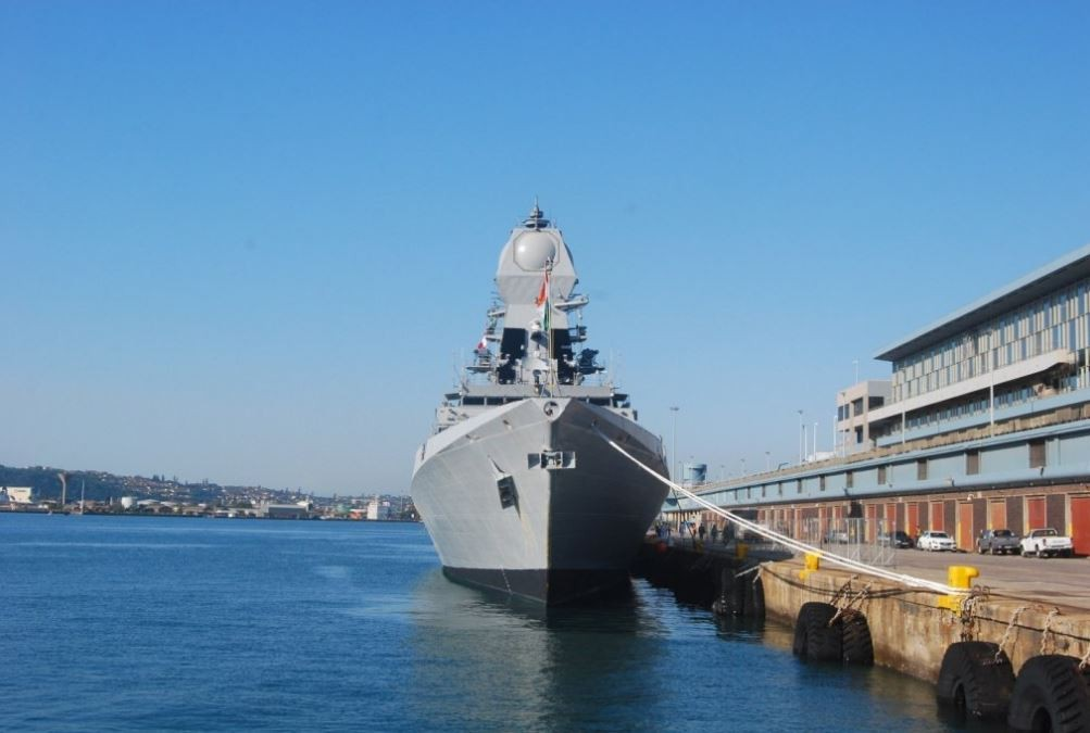 Indian Navy in South Africa