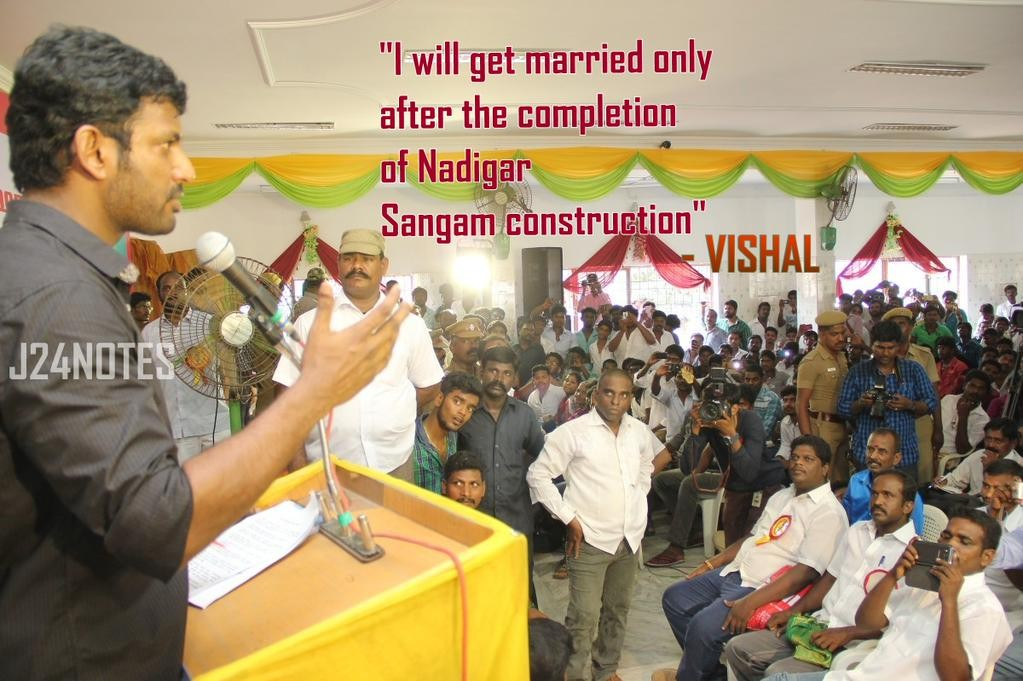 Tamil actor Vishal