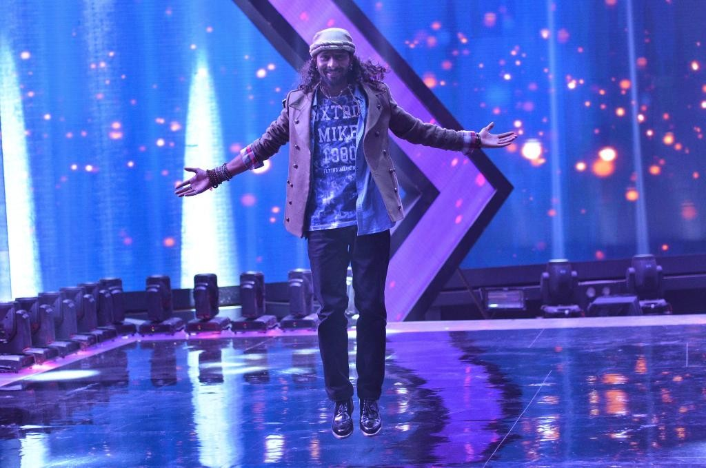 Rituraj Mohanty at the grand finale of 'India's Raw Star'.