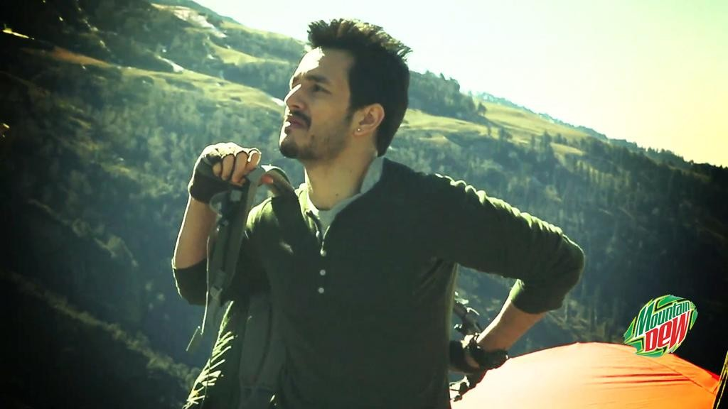 Akhil Akkineni in Mountain Dew Film