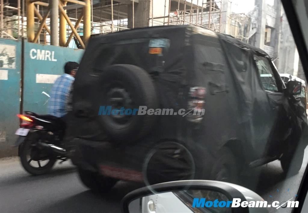 Mahindra New Gen Bolero Spied Testing Again