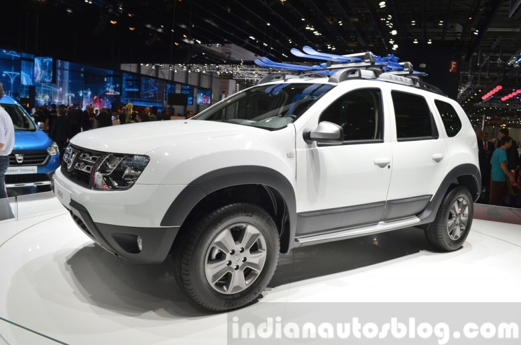 2015 geneva motor show dacia renault unveils duster awd 125 tce photos. Black Bedroom Furniture Sets. Home Design Ideas