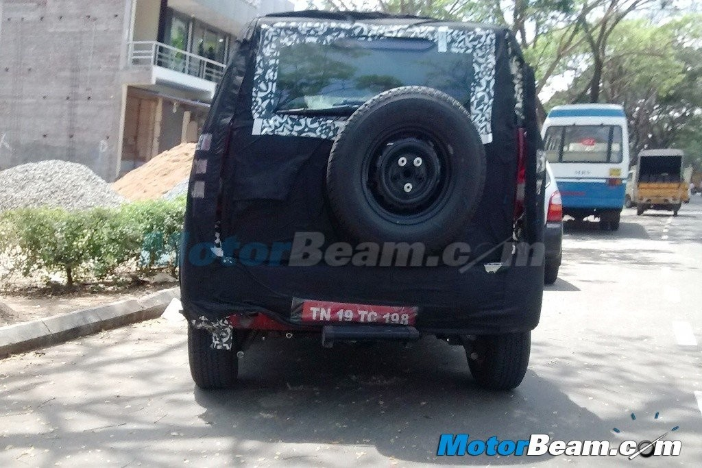 Mahindra New-Gen Bolero U301 Interior Snapped in production Ready Guise