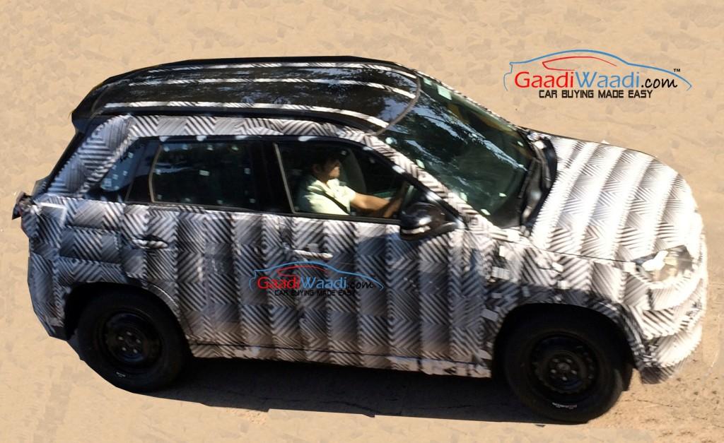 Maruti Compact SUV YBA