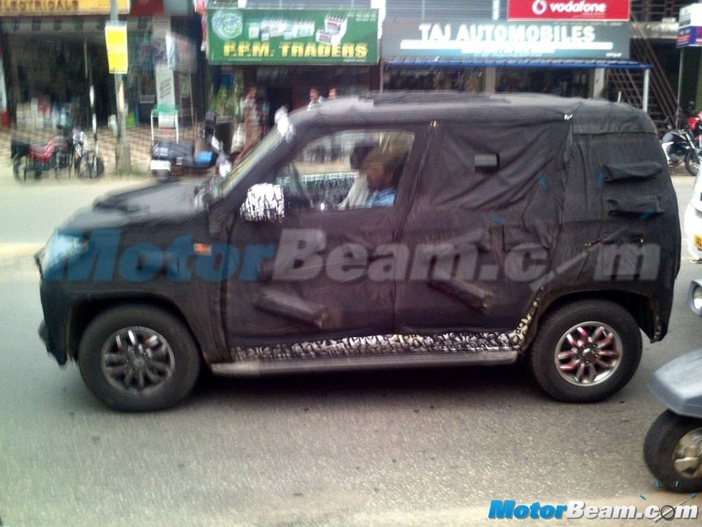 Mahindra New-Gen Bolero U301 Returns in Fresh Spy Shots