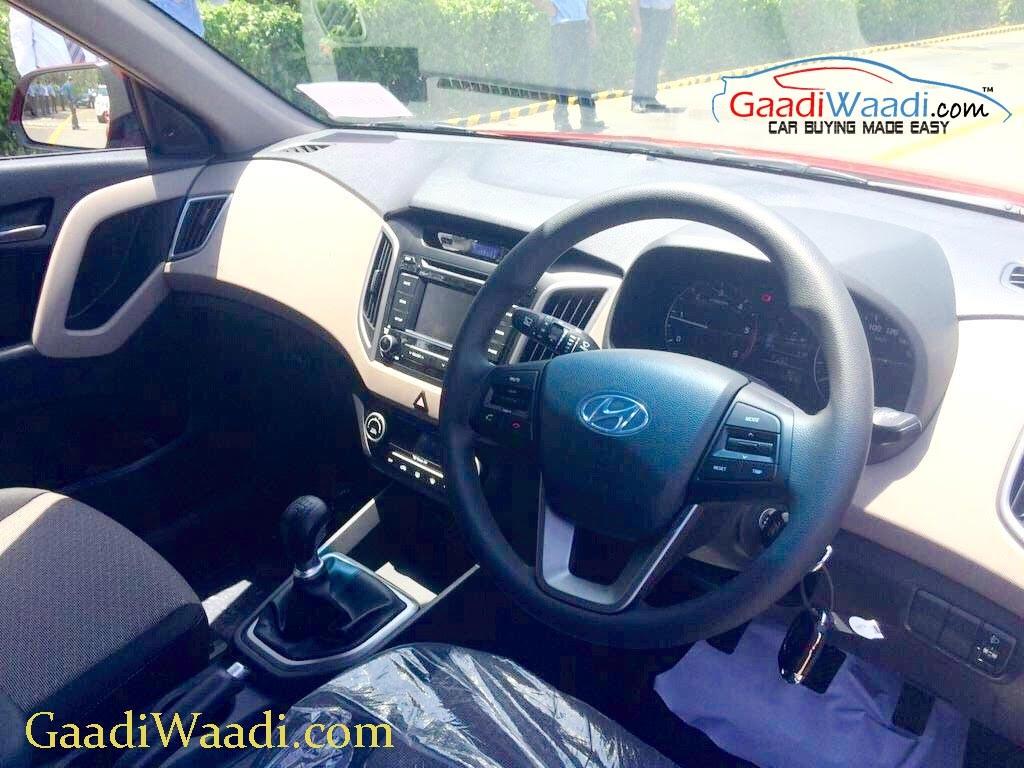 Hyundai Creta Compact SUV interior