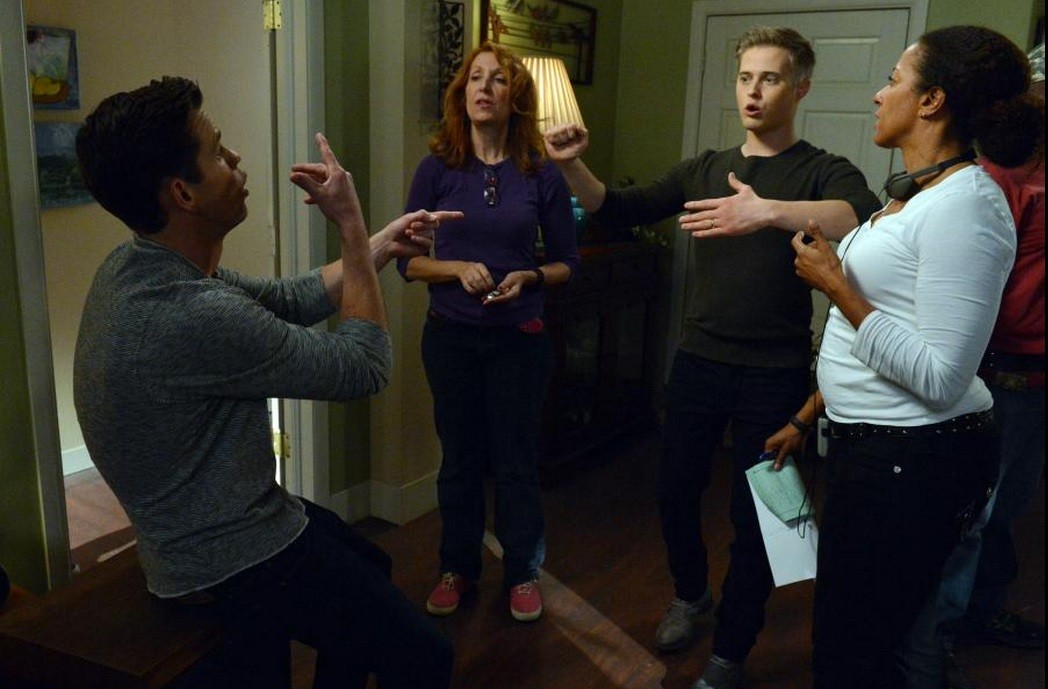 Behind the scenes with Lucas Grabeel and Ryan Lane