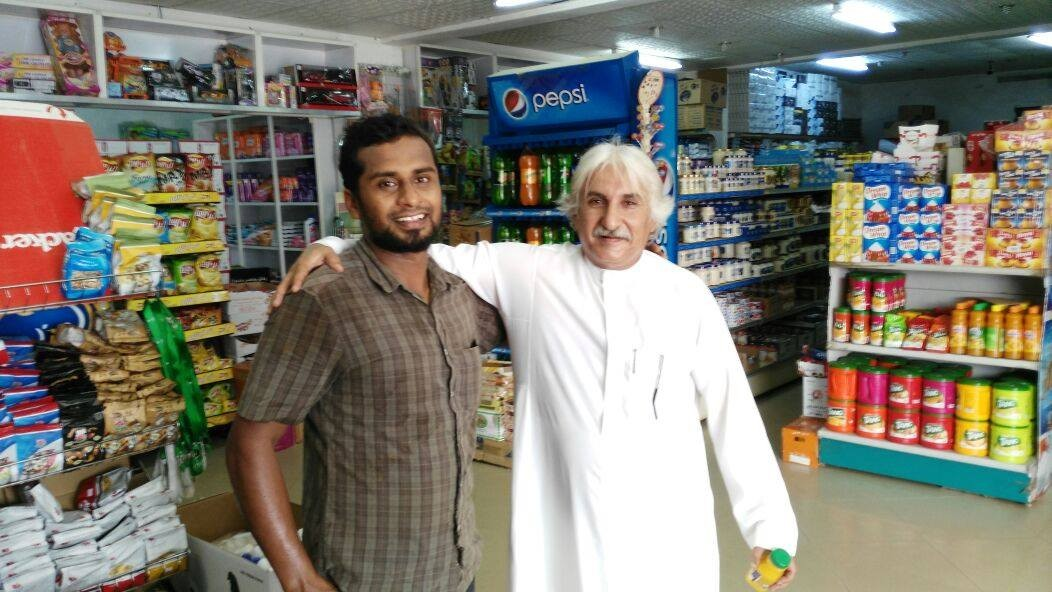 Oommen Chandy's Look-alike in Saudi Arabia