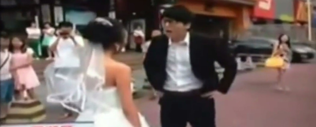 Chinese bride prank goes wrong
