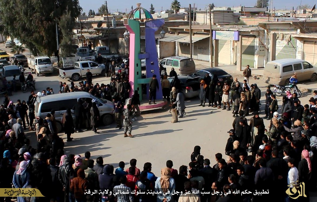 ISIS executed a man in Raqqa for calling Islam a false religion.