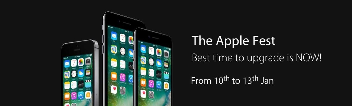 Flipkart, The Apple Fest, discounts, iPhone 7, iPhone 6S, iPhone 6S, Apple Watch, MacBook Air, MacBook Pro