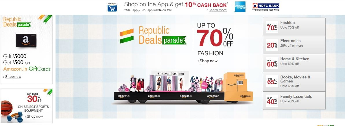 Amazon India Republic Day Parade Sale: Best Deals on Smartphones & Tablets Offer up to 50-percent Discount