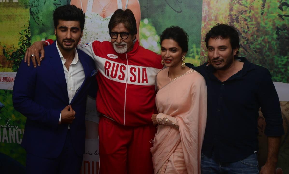 Amitabh Bachchan at 'Finding Fanny' special screening
