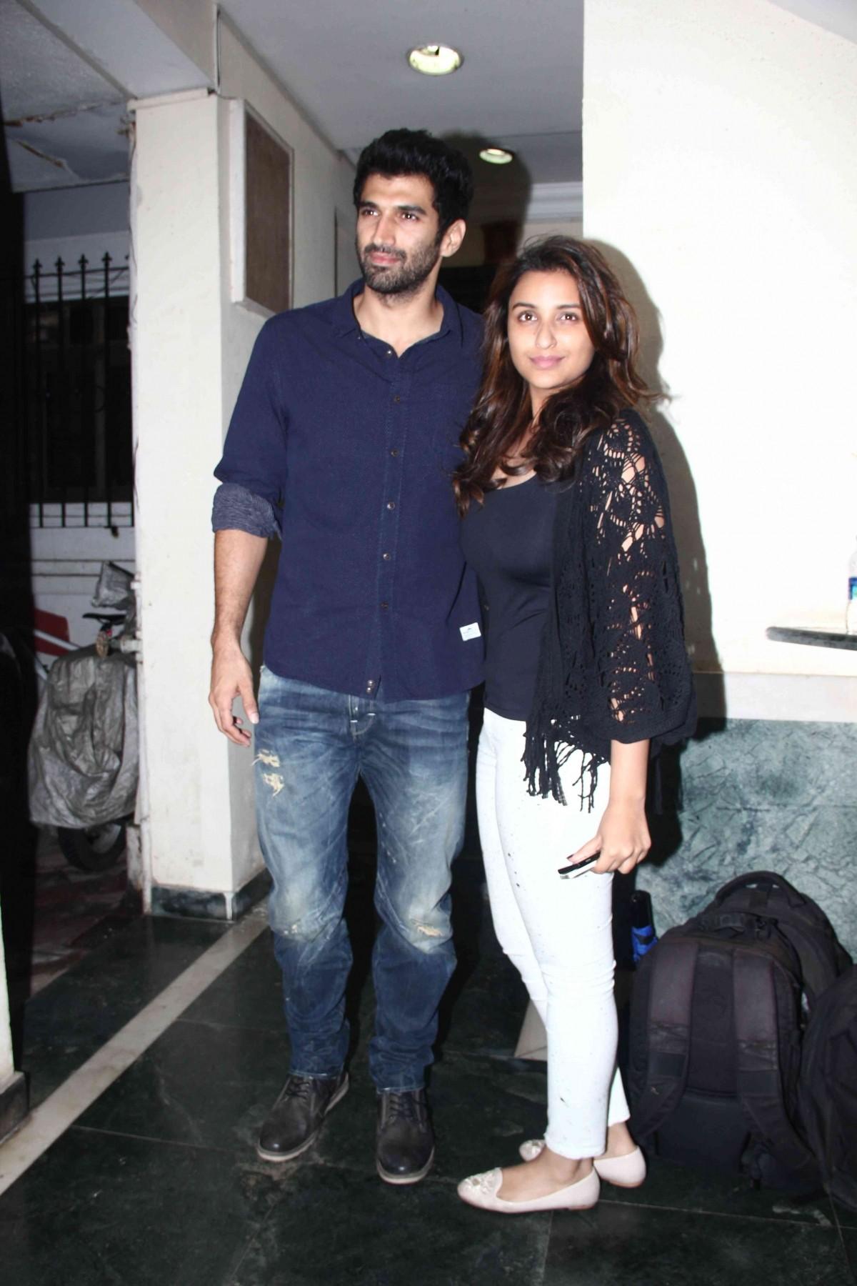 Parineeti Chopra with her