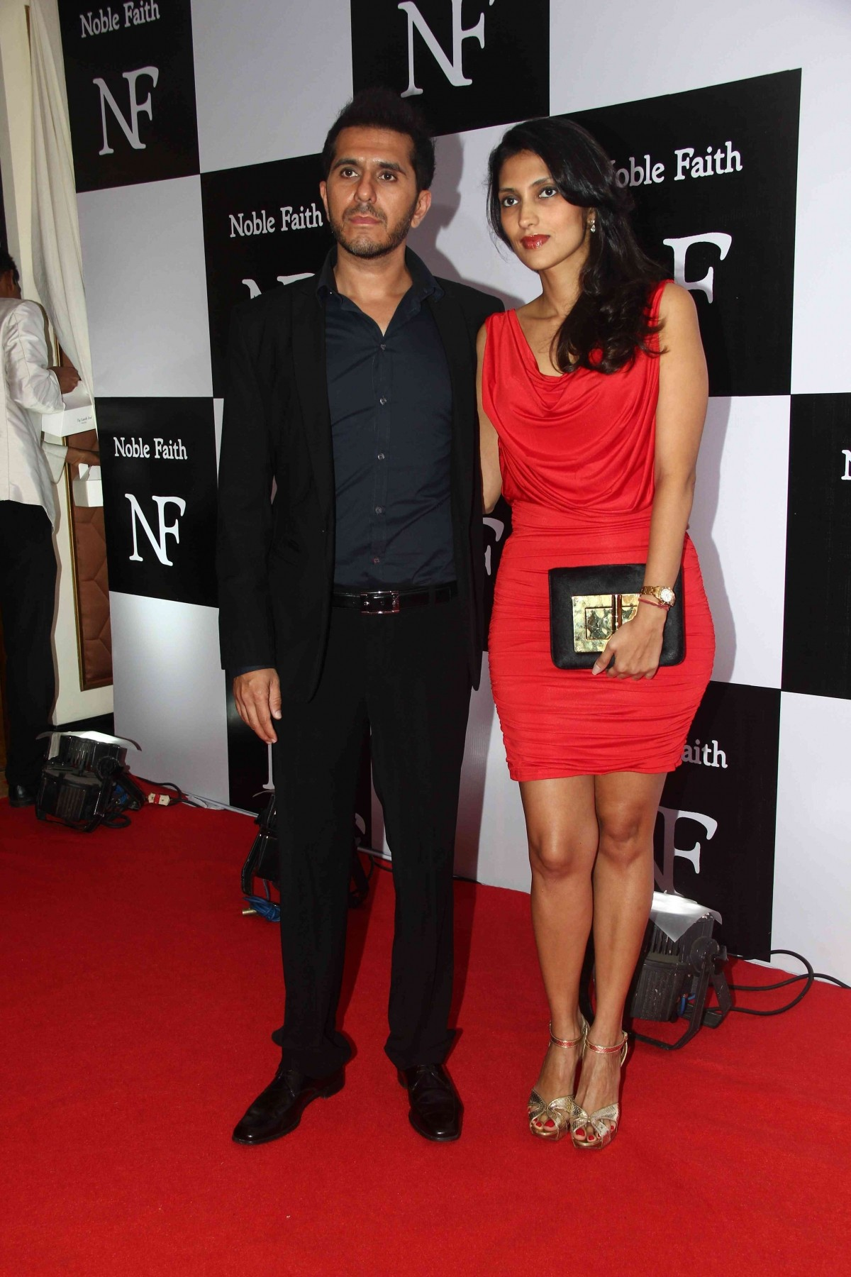 Ritesh Sidhwani with Wife