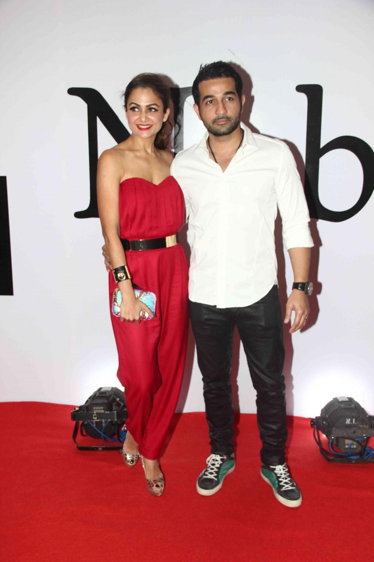 Amrita Arora with Husband