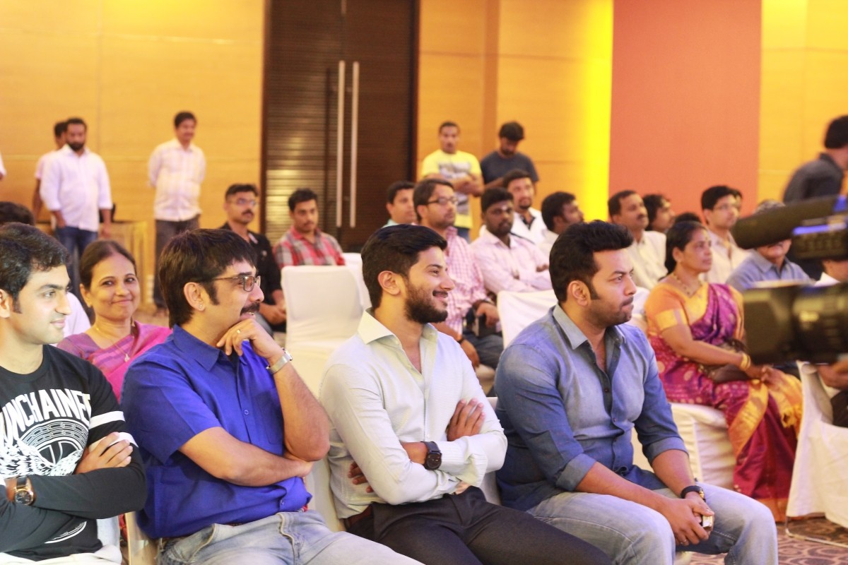 Rahul Madhav, Vineeth, Dulquer Salmaan and Indrajith